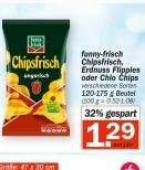 [Hit] Funny Frisch Chipsfrisch mit Coupon für 0,79€