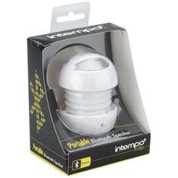 "Intempo™ - Mini Bluetooth Lautsprecher ""Pulse"" (Weiß) für €9,63 [@Zavvi.com]"