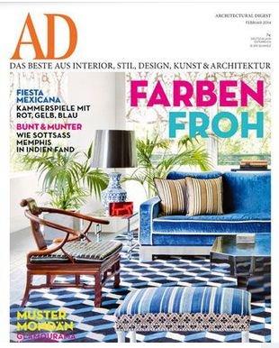 """Kostenloses Jahresabos """"AD Architectural Digest"""""""