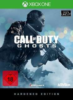 Call of Duty: Ghosts - Hardened Edition (Xbox One) für 55€ @Saturn