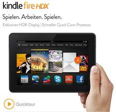 Amazon Kindle Fire HDX 7 ab 189€ @Amazon.de