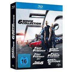Fast & Furious 1-6 Blu ray [Mediamarkt