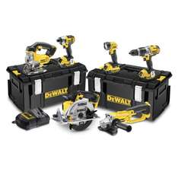 Dewalt DCK692M3  Akkuwerkzeug Set 18V mit 3 4AH Akkus und 6 Werkzeugen