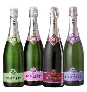 4 x Pommery Champagne