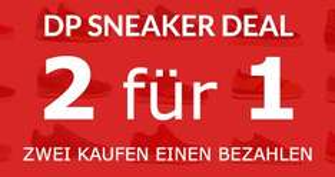 Distorted People: 2 für 1 Sneaker Deal