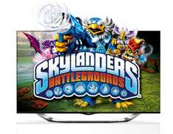 LG 47LA6918 + LG BP430 3D Blu-ray-Player + Skylanders Battlegrounds