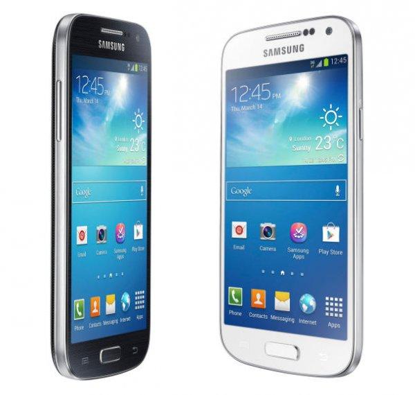 Galaxy S4 mini + Allnet + SMS + Internet Flat nur 17,99€ mtl