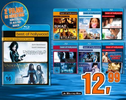 """Saturn startet die Aktion """"Best of Hollywood"""" im Blu-ray Doppelpack für je 12,99€"""