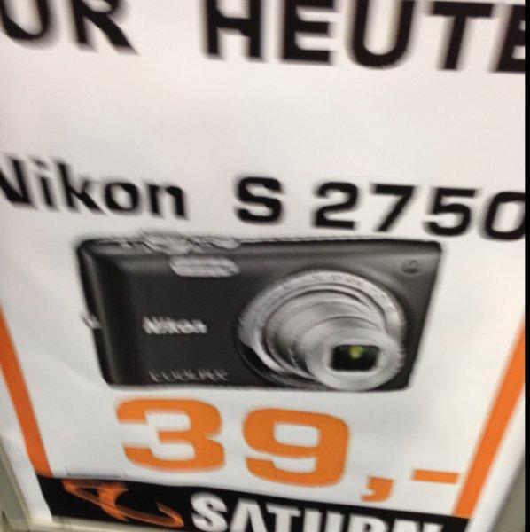 [lokal München] Nikon Coolpix S2750 - Saturn Stachus