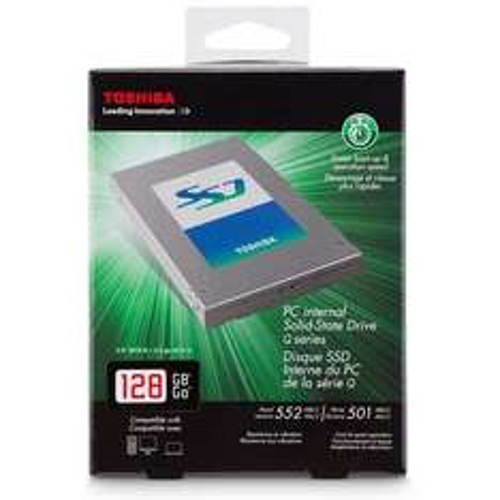"Toshiba Q-Series 128GB, 2.5"", SATA 6Gb/s SSD für 66,66 € zzgl. 3,90 € versand =70,56 €"