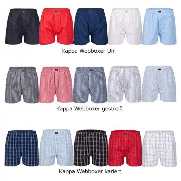 [eBay] 4er Pack (Web) Boxershorts von Kappa Elmir für 23€ in versch. Modellen