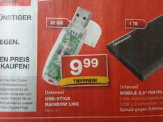 Staples 32 GB Intenso USB-STICK Rainbow Line