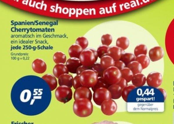 [Bundesweit] Cherrytomaten 250g Schale im Real ab 10.02