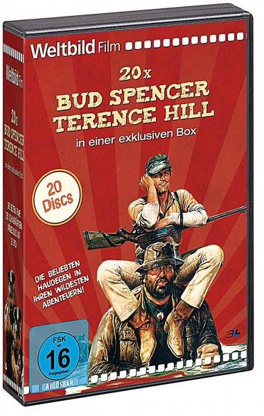 Bud Spencer & Terence Hill Box - Weltbild-Edition (20 DVD) &&& [z.B.] Die Lümmel von der ersten Bank (DVD)