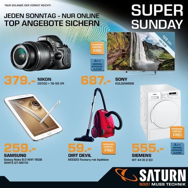 Saturn Super Sunday - Online - Nikon D5100 Kit 18-55 mm [Nikon VR]