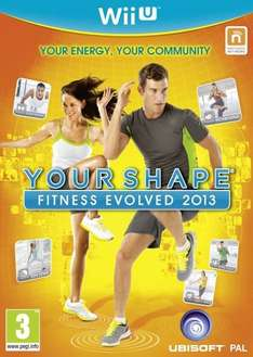 Nintendo Wii U - Your Shape Fitness Evolved 2013 für €12,02 [@Zavvi.com]