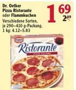 Dr. Oetker Pizza Ristorante oder Flammkuchen 1,69 € und Buitoni Pasta 500 g für 0,69 € im Globus Hattersheim (bei Frankfurt a. M.)