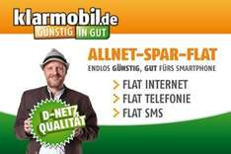 Allnet-Flat, SMS-Flat, 500MB im D-Netz für ca. 16€