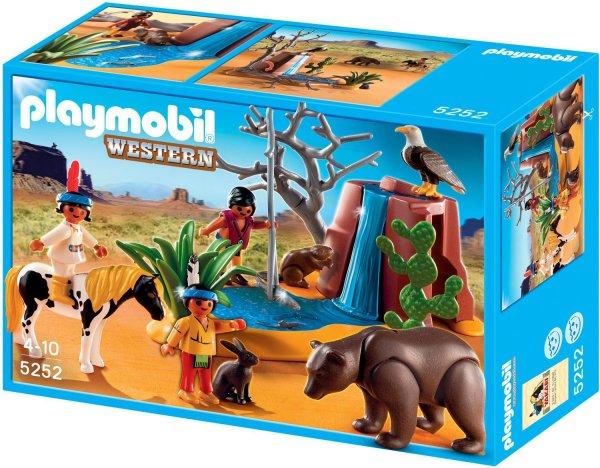 Playmobil™ - Indianerkinder mit Tieren (5252) ab €8,77 [@Karstadt.de]