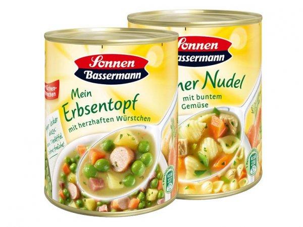 Nächste Woche bei Lidl: Sonnen Bassermann Eintopf für 1,11€