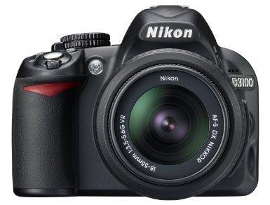 Nikon D3100 inkl. AF-S DX 18-55 VR Objektiv Amazon WHD wie neu
