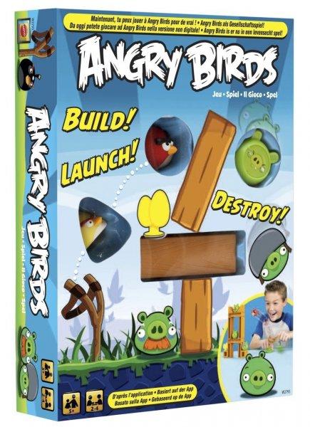 Mattel W2793 - Angry Birds, Brettspiel zur App ab 9,99€ @ Amazon