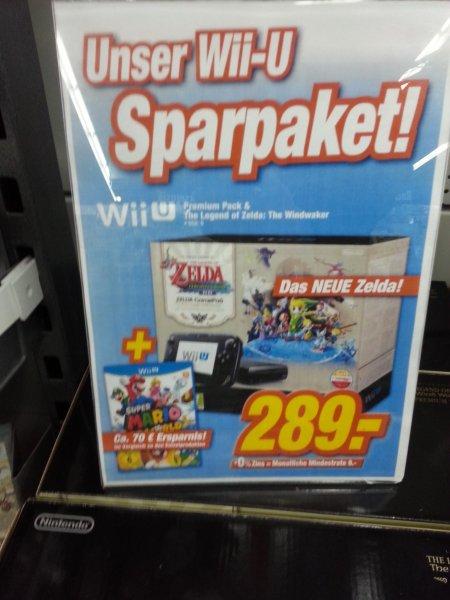 [Lokal] Wii U Zelda Wind Waker Pack inkl. Super Mario 3D Word