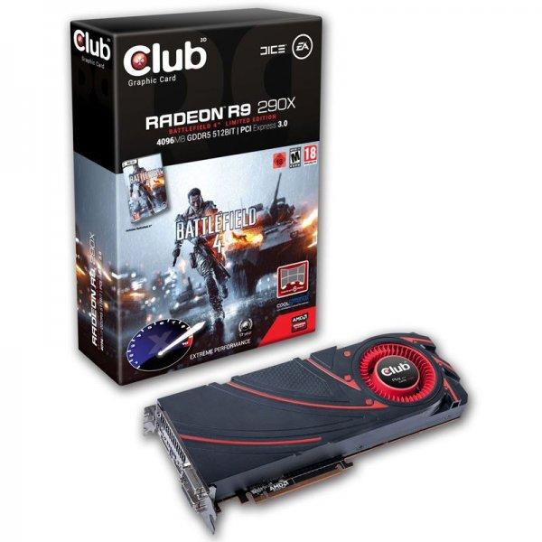 [Mindstar] Club 3D Radeon R9 290X Battlefield 4 Edition 4096MB