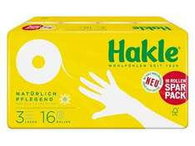 [Lidl Offline] ab 10.02 Hakle Toilettenpapier Kamille & Aloe Vera 3 Lagen, 16 Rollen