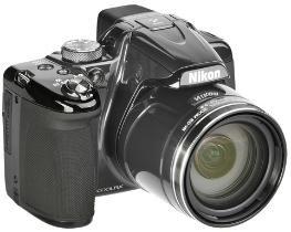 Nikon Coolpix P520  (18 Megapixel, 42-fach opt. Zoom, 8 cm (3,2 Zoll) LCD-Display, Bildstabilisator) für 229.95€ @ DC