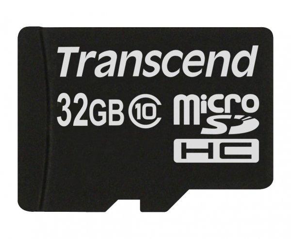 Amazon Blitzangebot: Transcend Class 10 microSDHC 32GB Speicherkarte - 16,99€