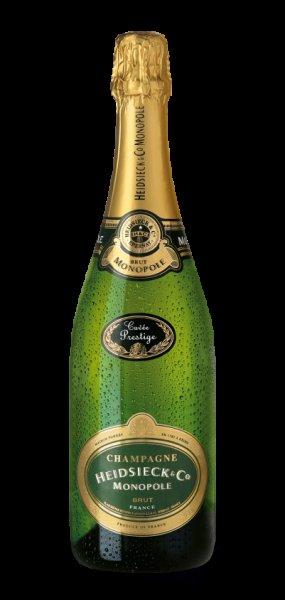 Heidsieck Champagne 3 Flaschen 53,70€ (15,20€ / Flasche& 14,18€ incl. qipu)