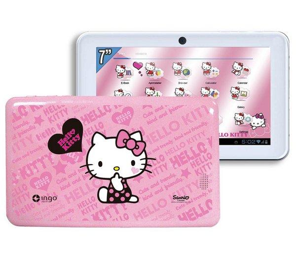 """INGO Touch-Tablet Hello Kitty Premium - 7"""" 59 €"""