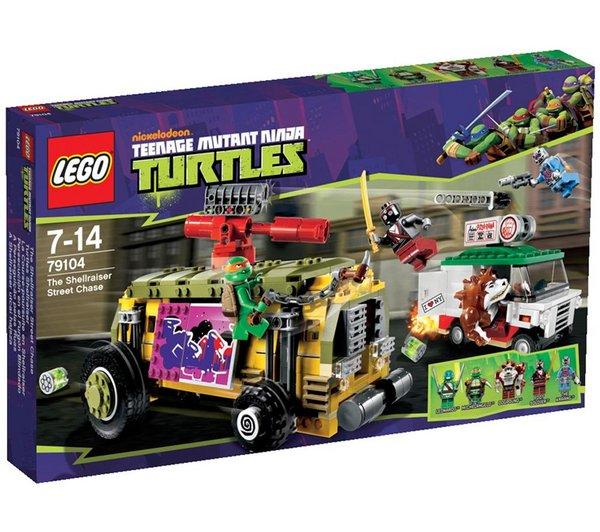 "LEGO® 79104 Ninja Turtles ""Turtles Shellraiser"" für 34,71 € @Pixmania"