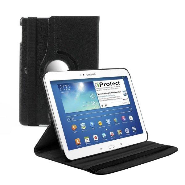 Praktisches Case fürs Galaxy Tab 3 mit 360 Grad Drehfunktion und 5 Sternen