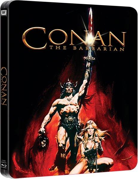 Conan der Barbar (Steelbook Blu-ray) (OT) für 9.57€ @Zavvi