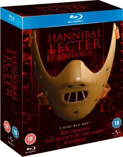 Hannibal Lecter Blu-ray-Trilogy für ~20,20€ inkl. Versand @zavvi