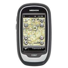 Medion GoPal S3867 (MD 98406) Outdoor Navigationssystem 7,62 cm/3'' Touchscreen