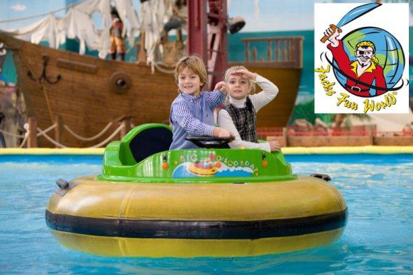 """Familienticket für Berlins größten Indoor-Freizeitpark """"Jack's Fun World"""" für 18€"""