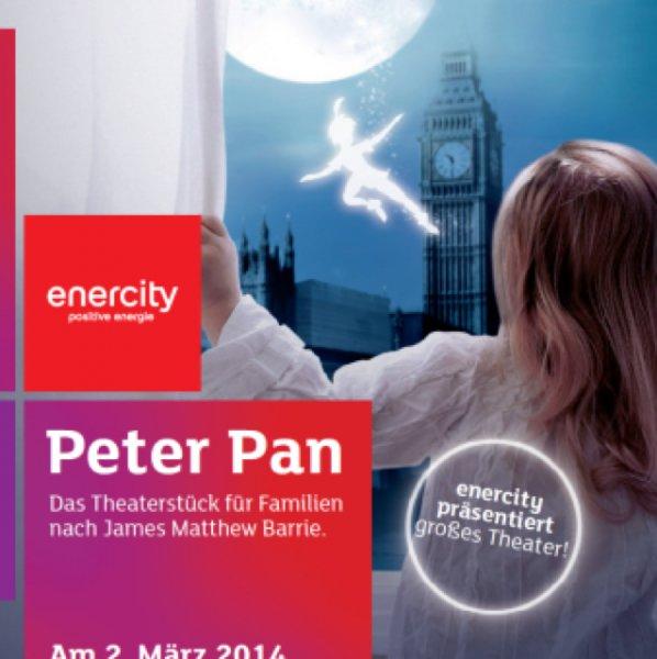 "[Lokal Hannover]Theaterstück ""Peter Pan"" exklusiv für enercity Kunden"