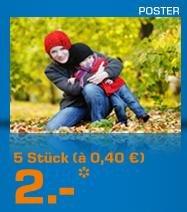 5 Poster im 20x30 Format für 2,99€ @Saturn