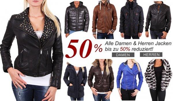 Adidas-G-Star-Bomboogie-Vero Moda  Winterjacken bis zu 50% reduziert