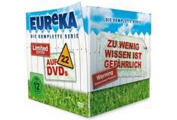 [MediaDealer.de] [DVD] Eureka - Die komplette Serie (Limited Edition)