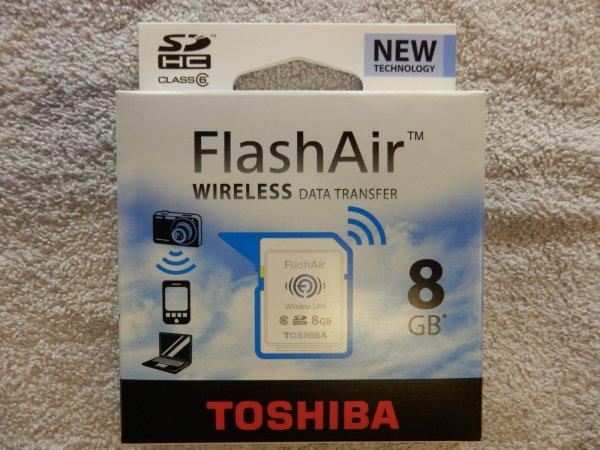 [Abgelaufen] 8GB FlashAir SD-Karte mit WiFi ähnlich EyeFi