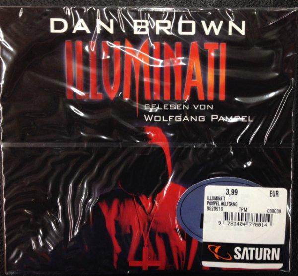 Illuminati -Dan Brown - Hörbuch nur 3,99 im Saturn Stuttgart