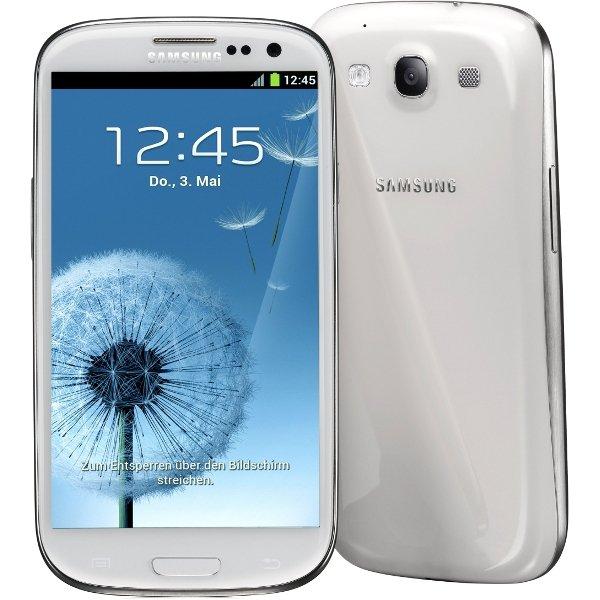 Samsung Galaxy S3 i9300 weiß für 269€ @eBay