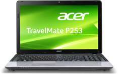Acer TravelMate P253-M-53234G50Mnks 39,6 cm (15,6 Zoll non Glare) Notebook (Intel Core i5-3230M, 2,6GHz, 4GB RAM, 500GB HDD, Intel HD 4000, DVD, kein Betriebssystem) schwarz