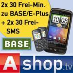 HTC Desire (ohne Branding) & 2xMein BASE (Kerntarif) & 2xSamsung E1080i für insgesammt 349€