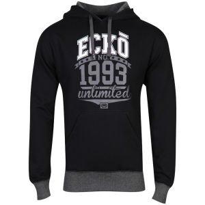 (UK) Ecko Men's Filler Time Hooded Sweatshirt in Schwarz für 18,14€ @ Zavvi