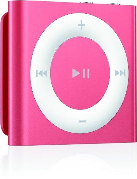 """Apple iPod shuffle 2GB Slate """"Pink"""" für 33€ + ggf 1,99€ VSK"""